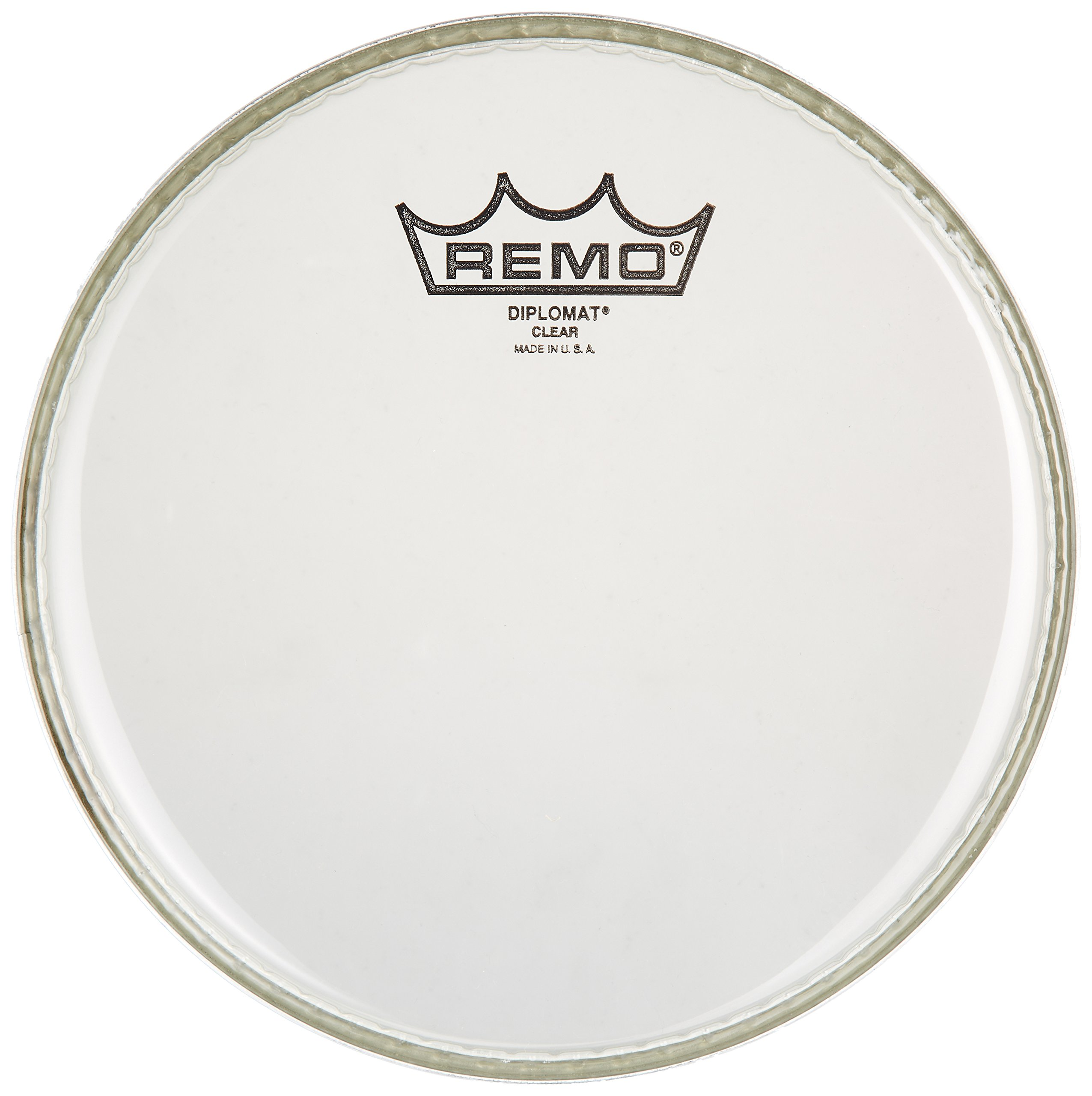 Remo BD0308-00 Clear Diplomat Drum Head - 8-Inch by Remo