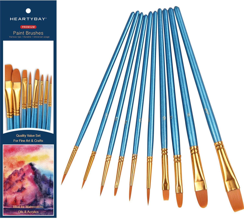 Professional Miniature Painting Brushes Nylon Hair Art Craft Hobby Model Tools