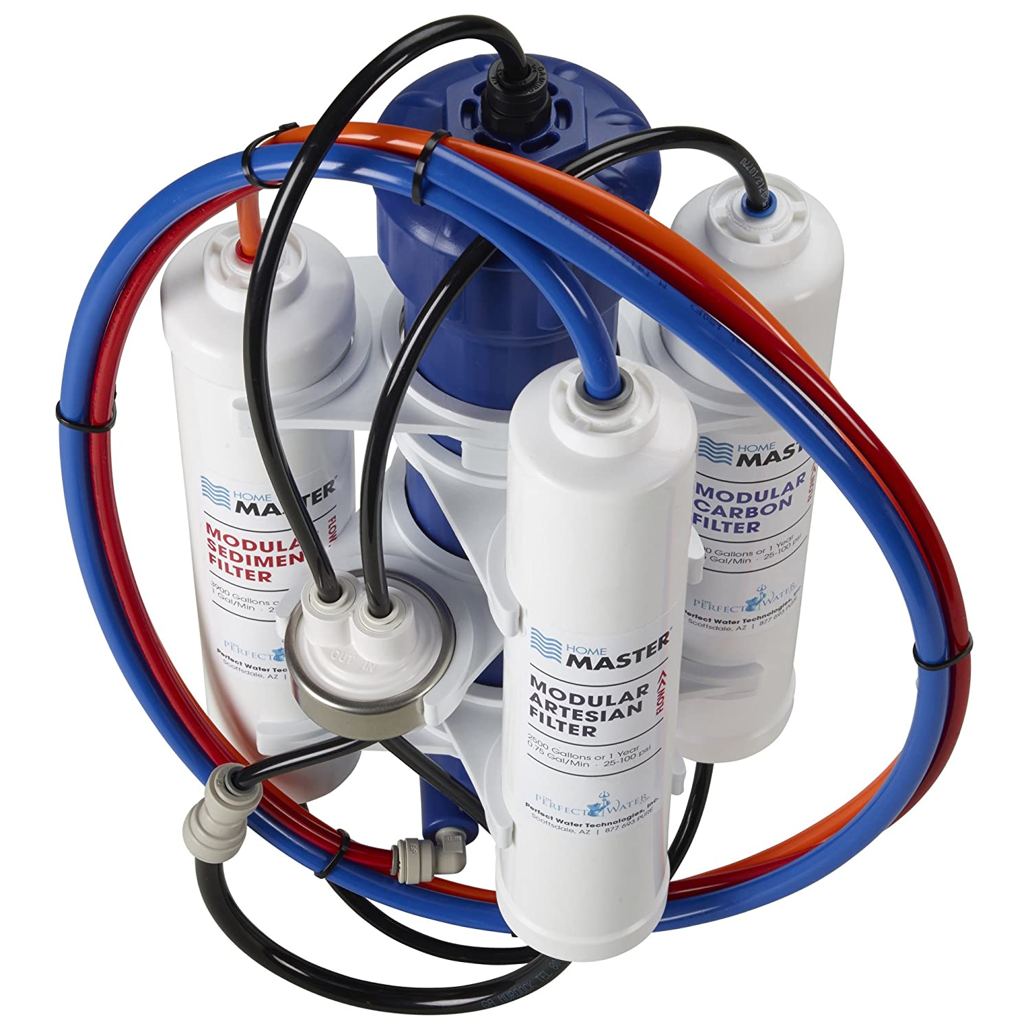HydroGardener TMA-HG Advanced Remineralizing Garden and Hydroponic Reverse Osmosis Water Filtration System, White