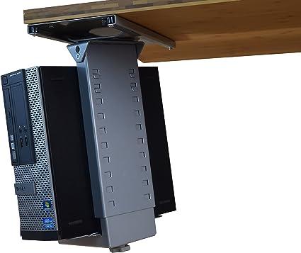 Ancho ajustable y altura debajo del soporte para CPU de escritorio ...