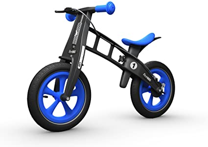 b8d2b484 Amazon.com: FirstBIKE Limited Bike with Brake, Blue: Toys & Games