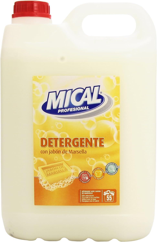 Mical Profesional - Detergente con jabón de Marsella - para lavar ...