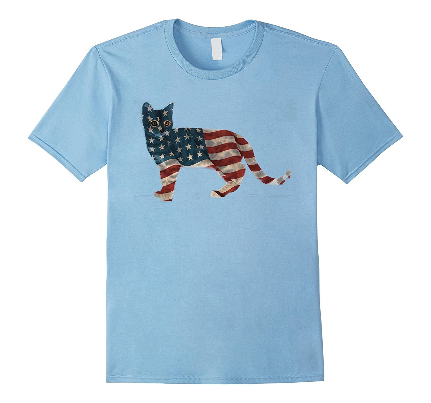 Funny Cat Independence Day Shirt Fourth Of July T Shirt