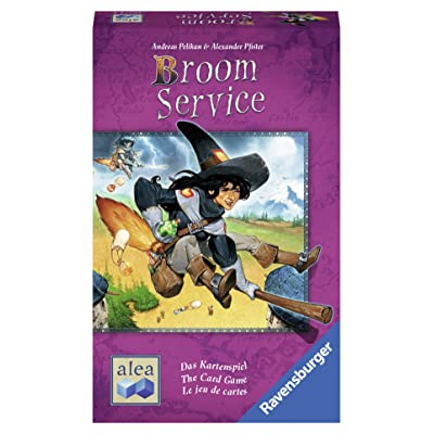Ravensburger Broom Service Card Game for Ages 8 & Up - Push-Your-Luck Card Game Based On The Popular Board Game: Toys & Games