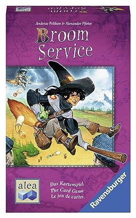Ravensburger Broom Service - The Card Game Juego de coleccionar Cartas - Juegos de Cartas (8 año(s), Juego de coleccionar Cartas, Niños y Adultos, ...