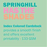 Springhill Colored Paper, Cardstock Paper, Green