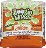 Boogie Wipes saline nose wipes are wet wipes made with natural saline, which is gentle on skin and helps clean and…