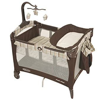 6cc2cfeac11 Image Unavailable. Image not available for. Color  Graco Pack  N Play  Playard with Bassinet ...