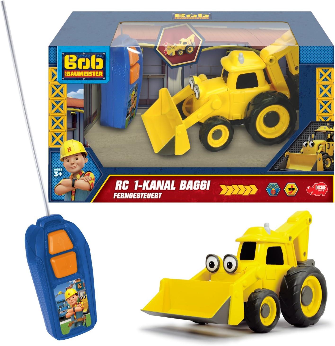 Bob the Builder Simba 3133001 Radiocontrol monocanal Excavadora Scoop 20 cm