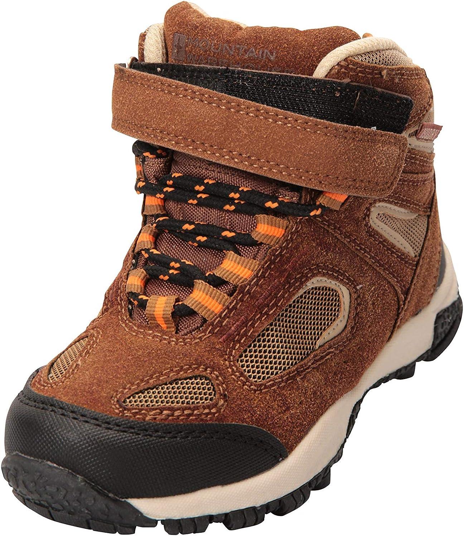 Chaussures de Marche Respirantes et l/ég/ères pour Enfant Mountain Warehouse Bottes imperm/éables Forest Junior Excellent Confort