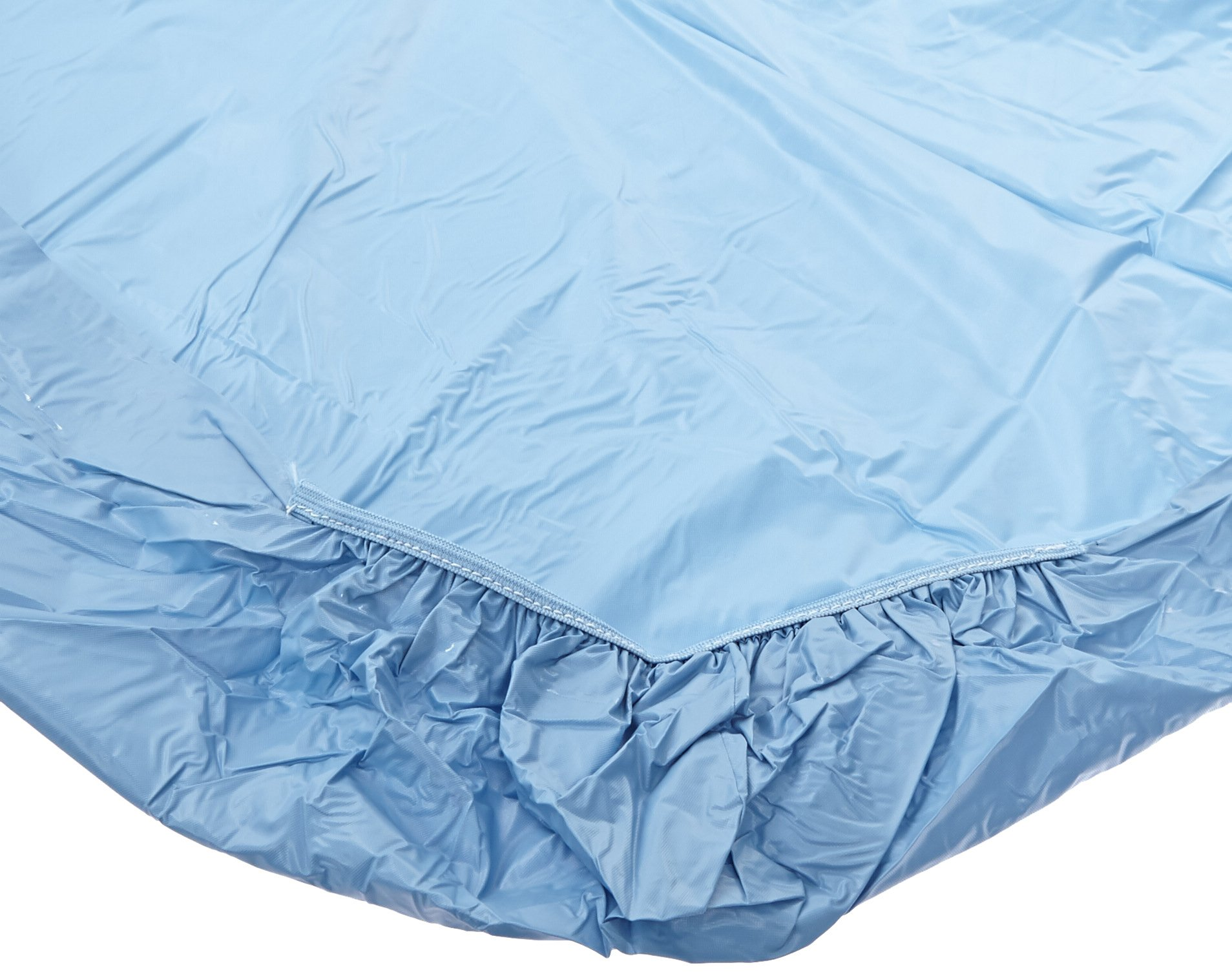 Kwik-Cover 3072-Light Blue 30'' X 72''  Kwik-Cover Light Blue Fitted Table Cover (1 full case of 100)