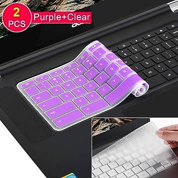 Rainbow Silicone Keyboard Protective Skin for Lenovo Chromebook C330 11.6 Lenovo Flex 11 Chromebook Lenovo Chromebook N42 N42-20 14 inch Lenovo Chromebook N20 N21 N22 N23 300e 500e 11.6 inch