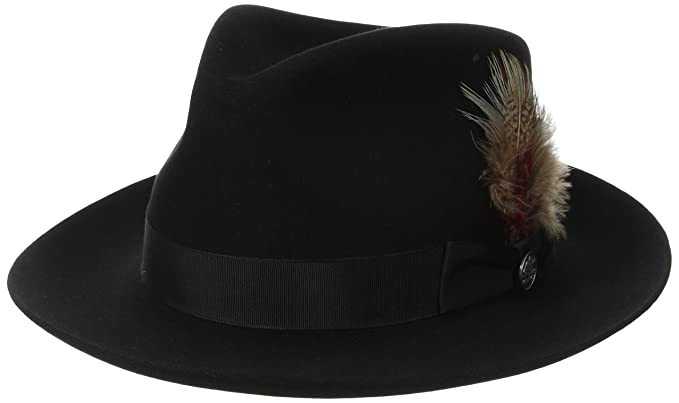 Stetson Men s Downs Royal Quality Fur Felt Hat at Amazon Men s ... 0d3dd0b773e