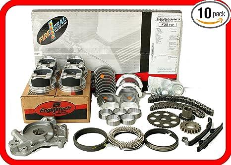 K24A8 Piston w//ring Set for 2003-2011 Honda Accord CR-V 2.4L L4 16V DOHC K24A4