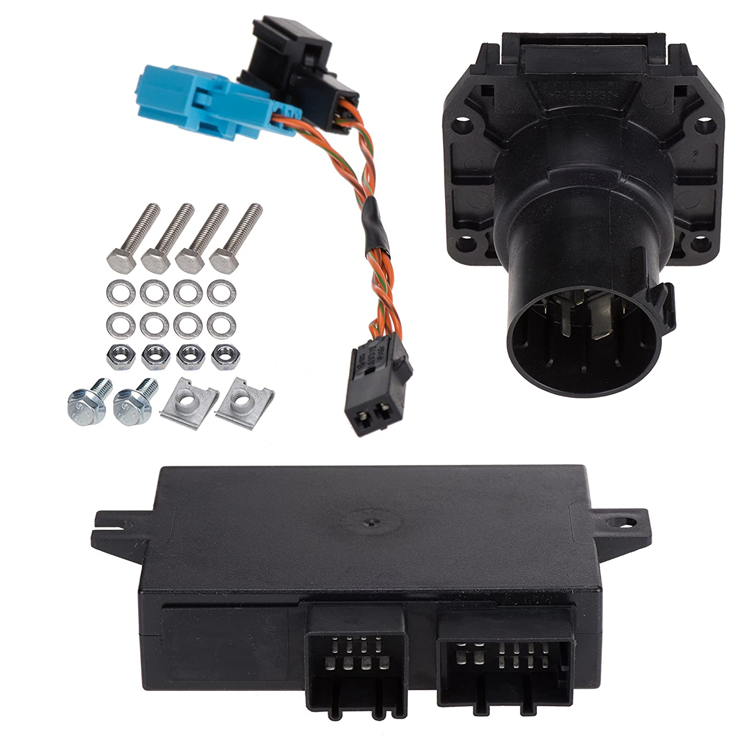 Volkswagen 5n0055204na Trailer Hitch Electrical Pollak T Connector Wiring Diagram Installation Kit Automotive