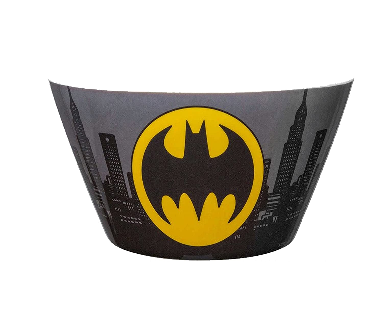 Zak Design DC Comic Batman Melamine Kid Friendly Plastic Bowl! BPA FREE