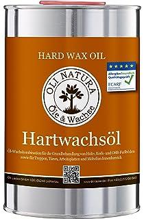 OLI-NATURA aceite de linaza barniz, conservación biológica de la madera, 1 litro, incoloro - natural: Amazon.es: Bricolaje y herramientas