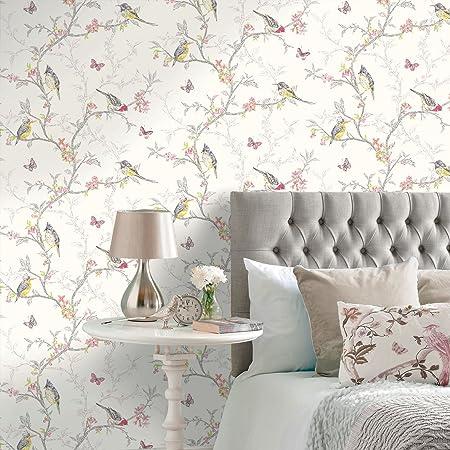 Holden Decor 98080 Paper Wallpaper The Enchanted Garden Collection 10 05 M X 0 53 M Amazon Com