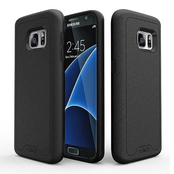 wholesale dealer c6d81 2c5e6 Amazon.com: J&D Case Compatible for Galaxy S7 Case, [Slim Armor ...
