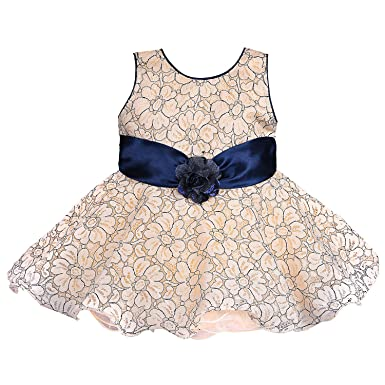 91bee02ac Wish Karo Baby Girls Net Frock Dress - (bxa160)  Amazon.in  Clothing ...