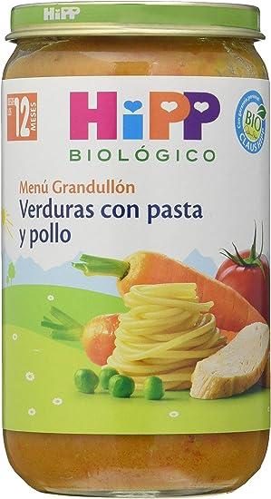 HiPP Biológico Tarrito Fideos en Tomate con Merluza - 250 gr ...
