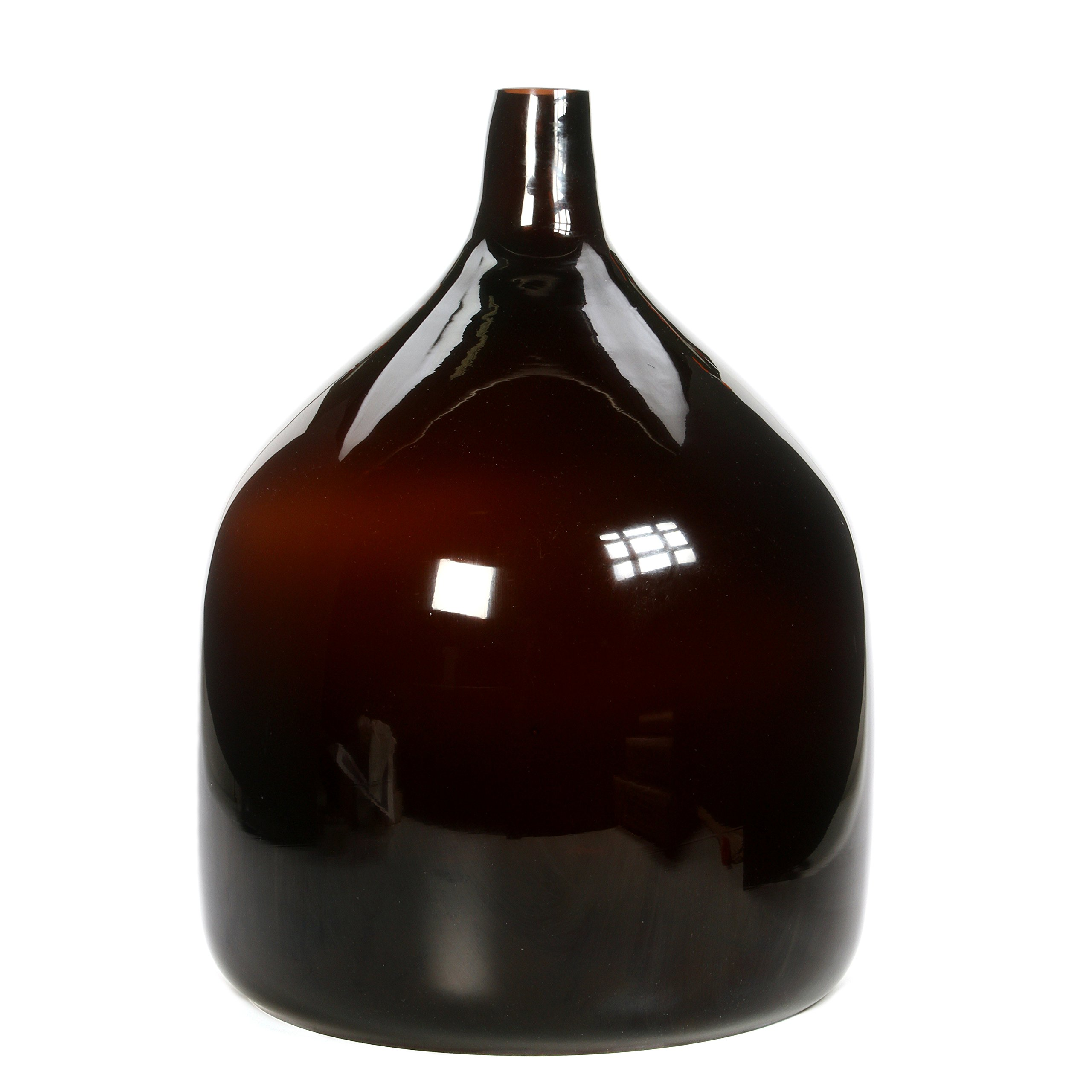 Hosley Lung Light Shade (Only Shade) 18'' Diameter, Brown. Ideal Gift for Wedding, Party, Home Decor, Office, Spa 18 K