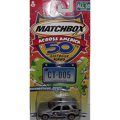 Matchbox Across America 50 Birthday Series: Connecticut Mercedes Benz ML 430: Toys & Games