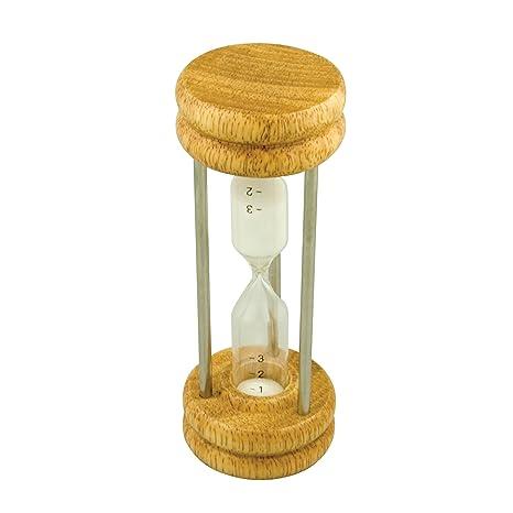 Dexam - Reloj de arena de madera y metal
