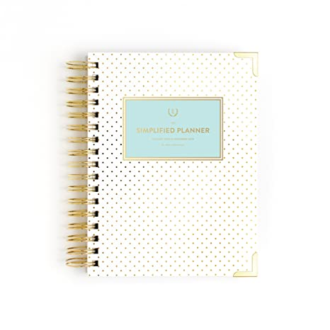 photo relating to The Simplified Planner App identify Emily Ley Paper 2018 Calendar Each day Simplified Planner