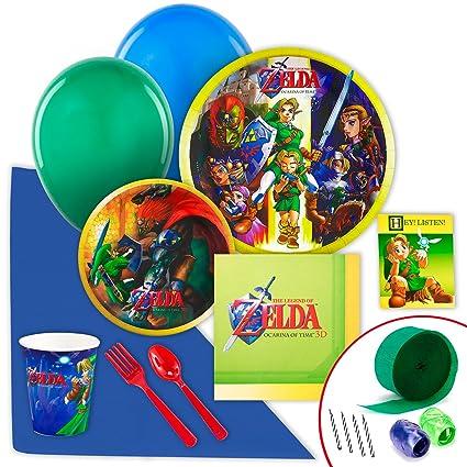 Amazon.com: The Legend of Zelda Value Pack Bundle De Fiesta ...