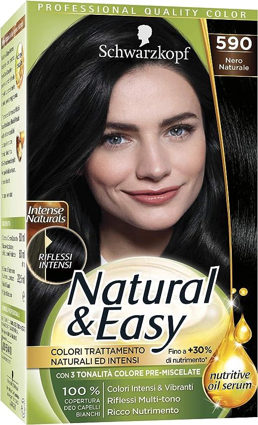 TESTANERA Natural & Easy 590 negro natural - tintes para el cabello