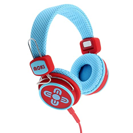 93f1642c373 Image Unavailable. Image not available for. Color  Moki ACCHPKSBR Kid Safe  Volume Limited Headphones ...