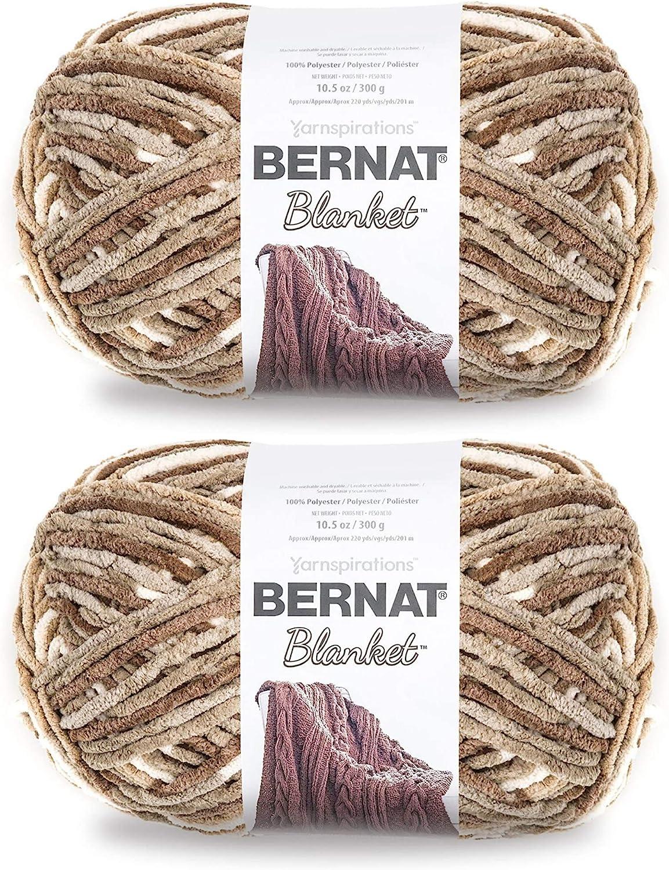 Bernat 161110-10018 Bernat Blanket Big Ball Yarn - Sonoma