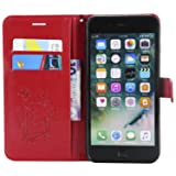 iPhone 8 Plus Wallet Case,iPhone 8 Plus Case with