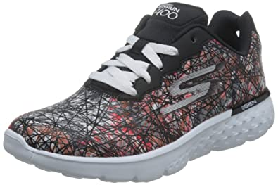 Skechers Women's Performance, Go Run 400 Velocity Running Shoe Black Multi  ...