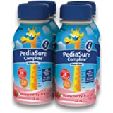 PediaSure Complete, Nutritional Supplement, 4 x 235 mL, Strawberry - Kids nutritional shake, containing DHA and vitamins…