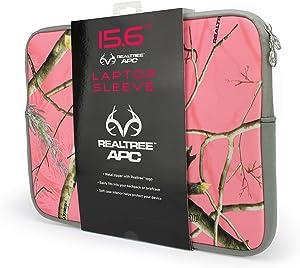 Absolute Eyewear Solutions Laptop Sleeve Realtree Pink Camo 15.6