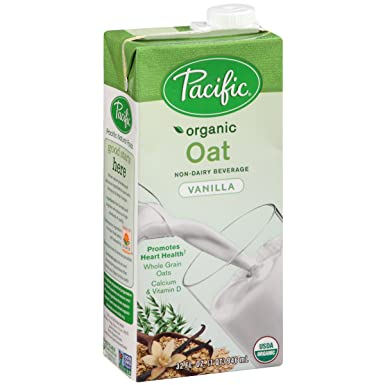 Avena Bebida, vainilla, 32-ounces del Pacífico (Pack of6 ...