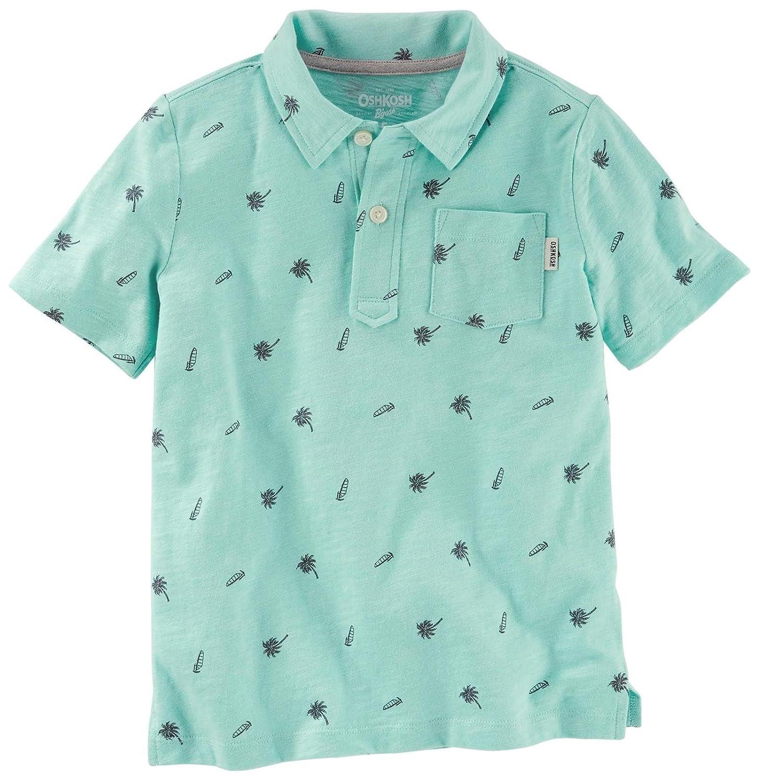 OshKosh BGosh Boys Knit Polo Henley 21966617