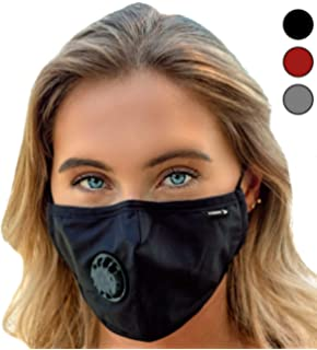 6887a098a51 Face Mask  Best Air Pollution UNIVERSAL FIT Dust Masks + 6 N99 Filter.  Carbon