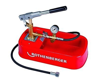 Pompe à main d/'Épreuve de Manuelle 25bar Test Pompe D/'essai Pression Fuite 25kg