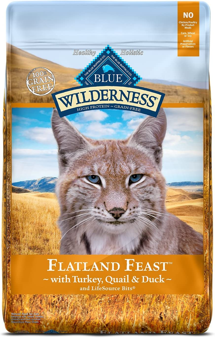 Blue Buffalo Wilderness Regional Recipes High Protein, Natural Adult Dry Cat Food