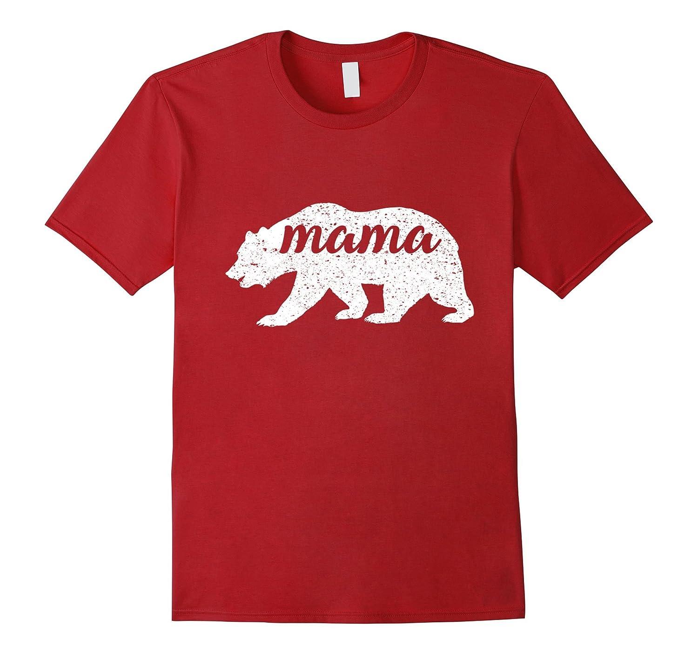 Women's New Vintage Mama Bear T-Shirt Camping Shirt-ah my shirt one gift