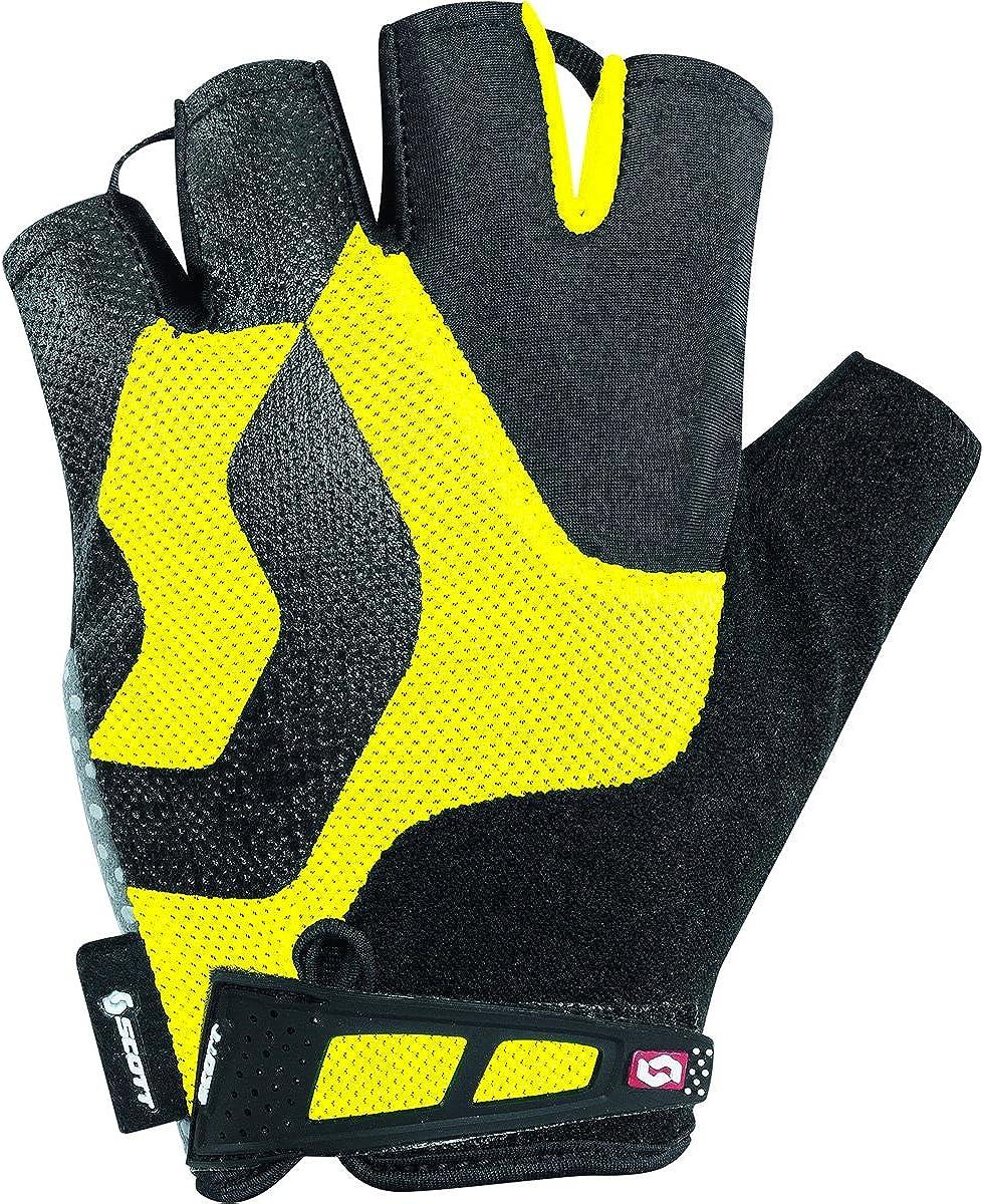 227992 Black//Yellow - XS Scott Sports Mens Essential Short Finger Cycling Gloves