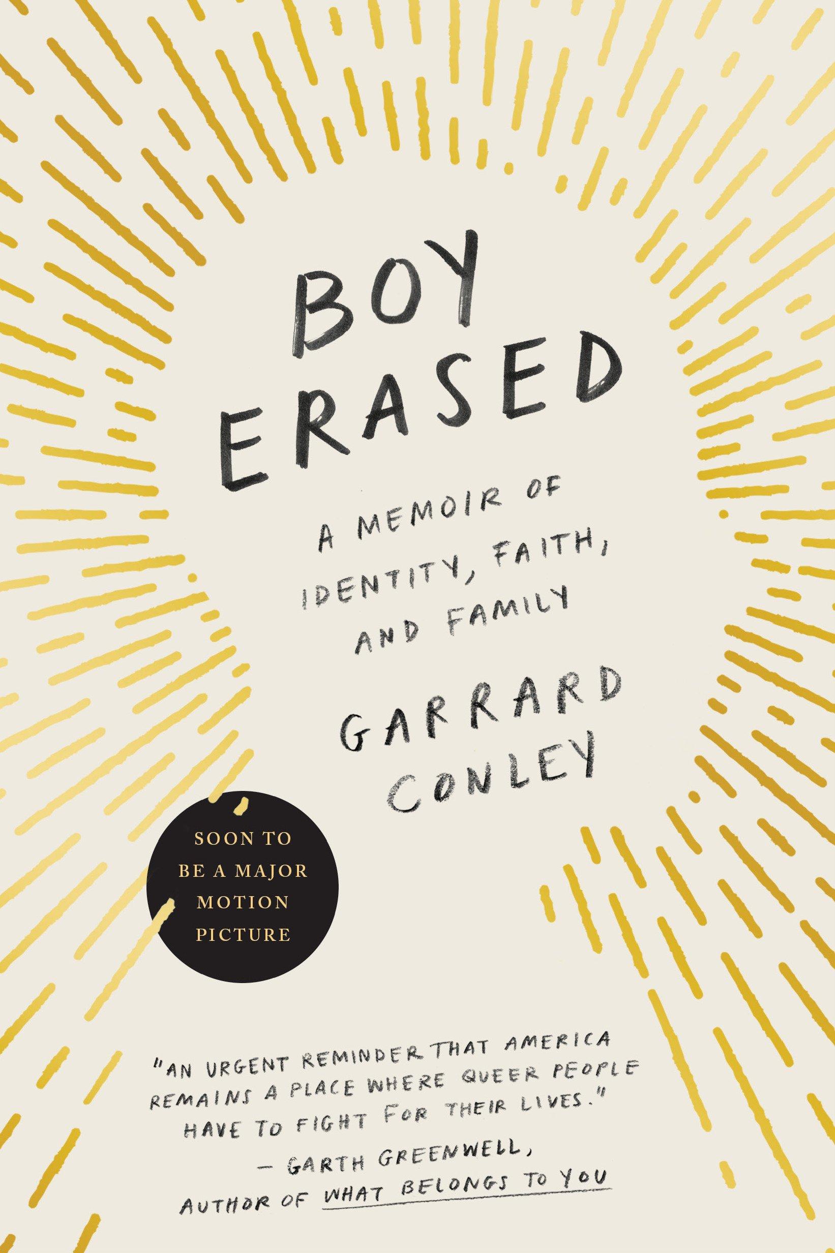 Image result for boy erased book