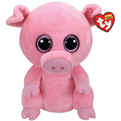 9f02f570218 Amazon.com  Claire s Girl s Ty Beanie Boo Large Posey the Pig Plush ...
