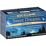 Té Bigelow Sweet Dreams, Té Para Dormir, Insomnio, Caja Con 20 Bolsas.