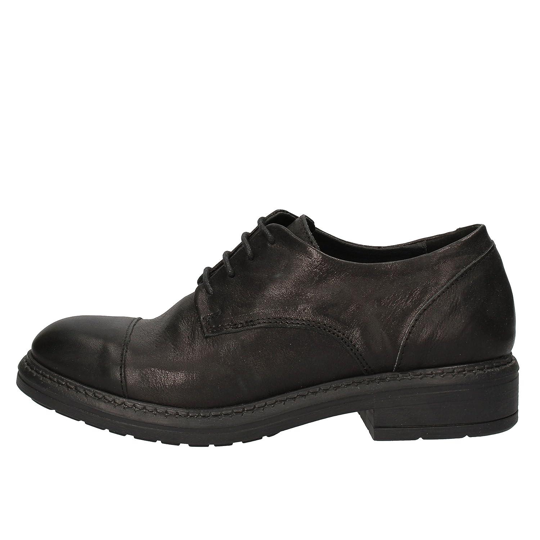 - MINgoldNZONI Oxfords-shoes Womens Leather Black