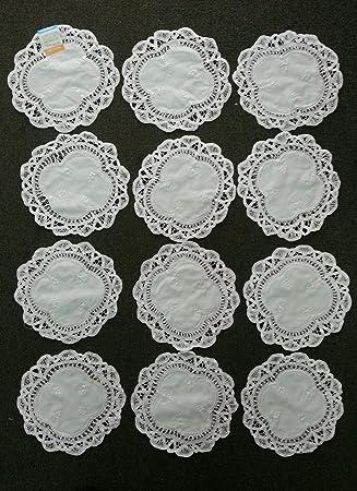 amazon com battenburg lace doilies 100 cotton approximately 10 x