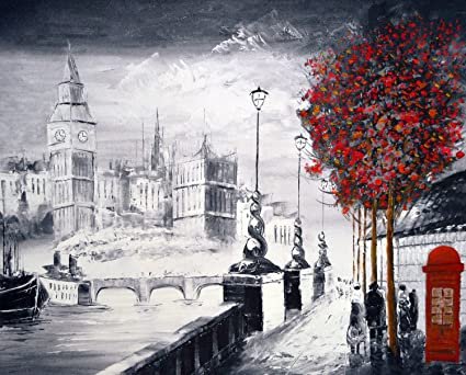 A brilliant city of london canvas print popular london embankment street scene canvas giclee